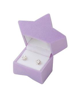 Love GOLD Love Gold 9Ct Gold 6Mm Star Cz Stud Earrings In A Star Gift Box Picture