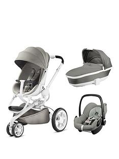 quinny-moodd-3-in-1-package-with-foldable-carrycot-and-maxi-cosi-pebble-grey-gravel