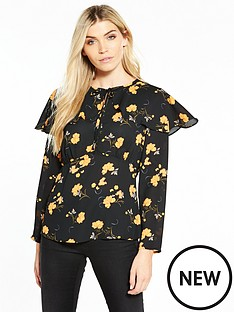 v-by-very-cape-printed-blouse