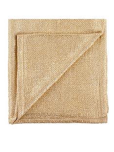 metallic-knitted-throw