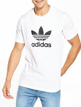 adidas Originals Adidas Originals Trefoil T-Shirt - White Picture