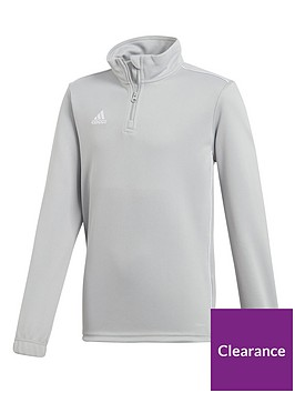 adidas-youth-core-18-training-12-zip-top-grey