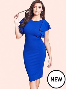 jessica-wright-jessica-wright-sianna-ruffle-sleeve-dress