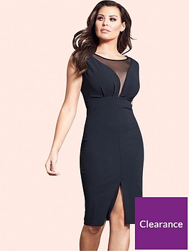 jessica-wright-jessica-wright-amallia-mesh-panel-midi-dress