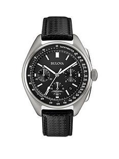 bulova-lunar-pilot-black-multi-dial-black-leather-strap-mens-watch-with-free-nato-strap
