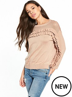 river-island-frill-detail-jumper