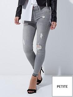 ri-petite-grey-ripped-molly-jeans