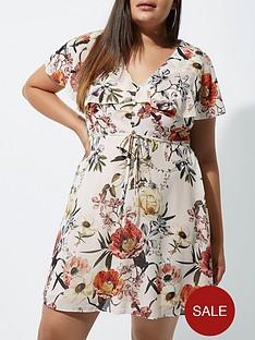 ri-plus-floral-frill-tea-dress