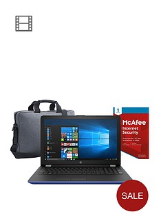 hp-15-bs086nanbspintelreg-pentiumreg-8gb-ram-1tb-hard-drive-156-inch-laptop-15-bs009na-intelreg-pentiumreg-8gb-ram-1tb-hard-drive-156in-laptop-includesnbspmcafeenbspinternet-security-and-topload-casenbsp--blue