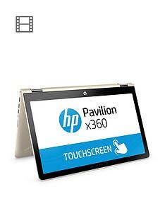 hp-pavilion-x360-15-br003nanbspintelreg-coretrade-i3nbsp8gbnbspram-1tbnbsphard-drive-156-inchnbsptouchscreen-2-in-1-laptop-gold