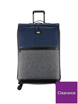 63f347fae16a Ted Baker Brunswick Mens Softside 4-Wheel Large Case