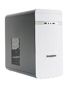 zoostorm-matx-lp-2210-intelreg-celeronregnbsp4gb-ramnbsp500gb-hard-drive-desktop-pc-white