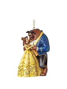 disney beauty and the beast traditions beauty the beast hanging christmas tree decoration - Disney Beauty And The Beast Christmas Decorations