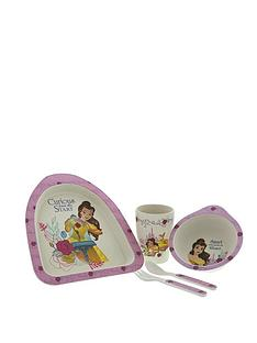 disney-beauty-and-the-beast-belle-organic-dinner-set