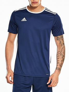 Adidas   Entrada 18 Training Tee - Navy