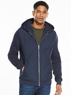 river-island-quilted-zip-through-hoody