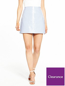 ri-petite-vinyl-mini-skirt-light-blue