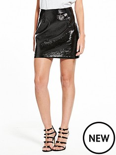 river-island-vinyl-mini-skirt