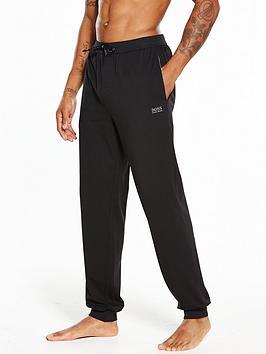 Boss   Bodywear Cuffed Lounge Pant - Black