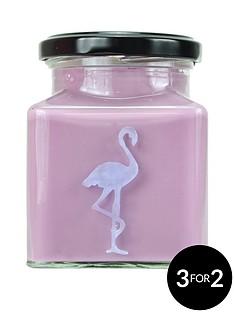 flamingo-candles-blueberry-cheesecake-flamingo-candle
