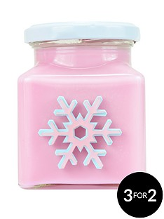flamingo-candles-ice-queen-snowflake-candle