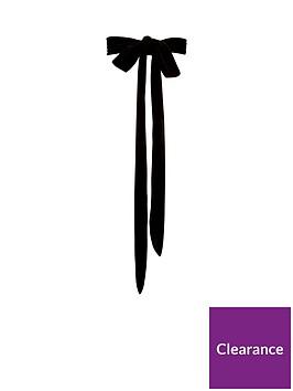 v-by-very-velvet-bow-belt-black