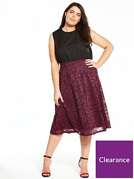 ax-paris-curve-2-in-1-lace-skater-dress