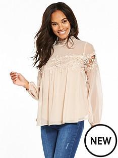 v-by-very-crochet-insert-blouse-blushnbsp