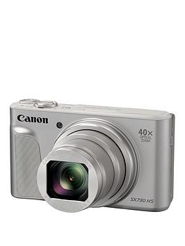 Canon   Powershot Sx730 Hs 20.3Mp 40X Zoom Camera - Silver