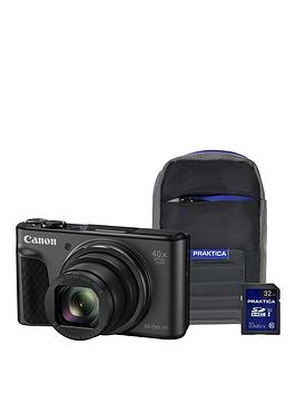 Canon   Powershot Sx730 Hs Camera Kit With 32Gb Sd Card And Case