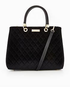 carvela-darla-quilted-velvet-tote-bag-black