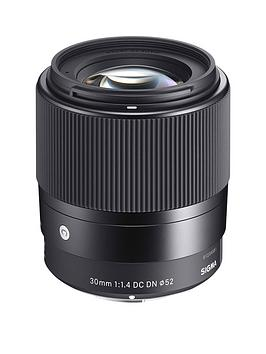 Sigma 30Mmf/1.4 Dc Dn I C (Contemporary) Prime Standard Lens - Sony E Fit