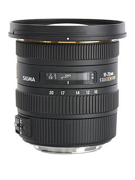 Sigma Sigma 10-20Mm F/3.5 Ex Dc Hsm Super-Wide Angle Lens For Nikon