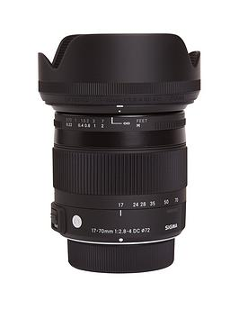 Sigma  17-70Mm F/2.8-4 Dc Macro Os Hsm Standard Zoom Lens