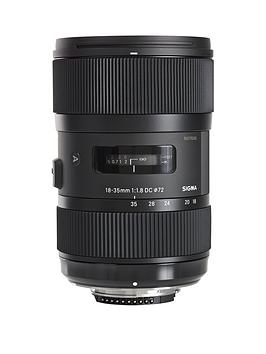 Sigma Sigma Sigma 18-35Mm F/1.8 Dc Hsm I A (Art) Standard Zoom Lens Nikon  ... Picture