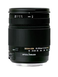 sigma-sigma-18-250mm-f35-63-dc-hsm-stabilised-macro-zoom-lens-canon-fit