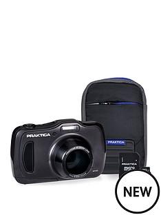praktica-luxmedia-wp240-waterproof-camera-kit-withnbsp8gb-micro-sd-card-amp-case