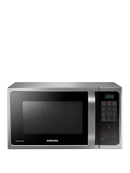 Samsung   Mc28H5013As/Eu 28-Litre Convection Microwave Oven With Ceramic Enamel Interior - Silver