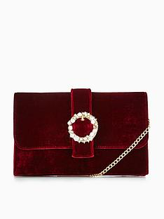 v-by-very-velvet-amp-pearl-buckle-detail-clutch