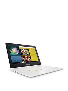 lenovo-lenovo-yoga-300-intel-celeron-4gb-ram-1tb-hard-drive-116-hd-tn-gl-touchflat-touchscreen-2-in1-laptop-snow-white