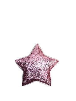 kylie-minogue-sequin-scatter-pink-star-shaped-3d-cushion