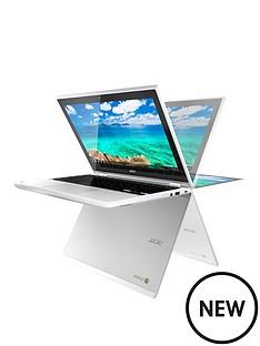 acer-acer-chromebook-r11-intel-celeron-4gb-ram-32gb-storage-116in-touchscreen-2-in1-chromebook-white