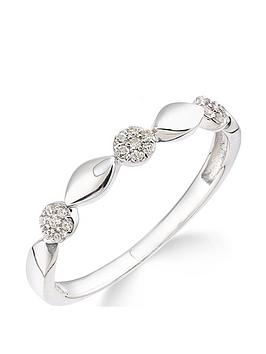 Love DIAMOND Love Diamond 9Ct White Gold 10 Point Diamond Commitment Ring Picture
