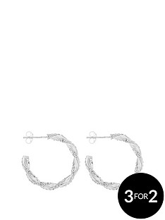 love-silver-sterling-silver-25mm-twisted-crystal-pave-hoop-earring