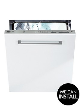 candy-cdi1ls38nbspfullnbspsize-13-place-integrated-smart-touch-dishwasher-with-optional-installationnbsp--whitesilver