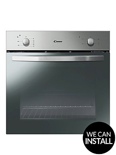 candy-fcs201xnbsp60cm-electric-built-in-single-oven-with-optional-installation-stainless-steel