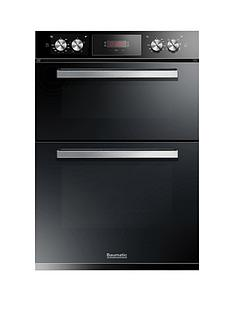 baumatic-bodm984b-built-in-double-oven-black