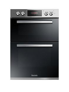 baumatic-bodm984x-built-in-double-oven-stainless-steel