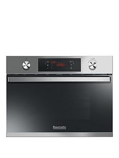 baumatic-bmic4644xnbspbuilt-in-compact-combination-microwave-oven-stainless-steel