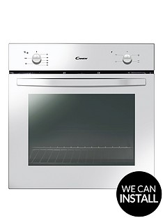 candy-fcs201wnbsp60cm-electric-built-in-single-oven-with-optional-installation-white